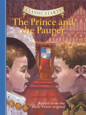 Click this cover for a(n) eBook sample of The Prince and the Pauper