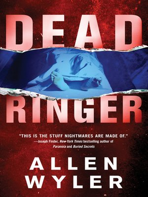 Click this cover for a(n) eBook sample of Dead Ringer.