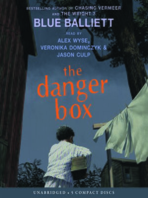 Click this cover for a(n) Audiobook sample of The Danger Box.