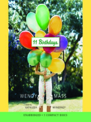 Click this cover for a(n) Audiobook sample of 11 Birthdays.