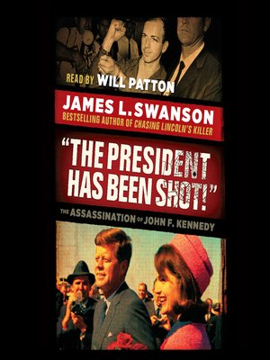"Click this cover for a(n) Audiobook sample of ""The President Has Been Shot!""."