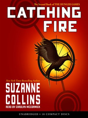 Click this cover for a(n) Audiobook sample of Catching Fire.