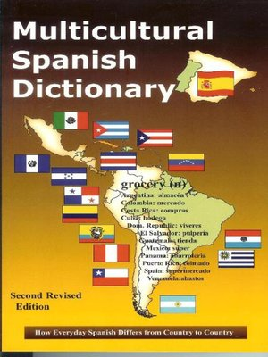 Click this cover for a(n) eBook sample of Multicultural Spanish Dictionary