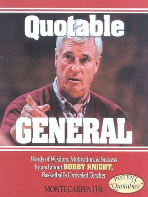 Click this cover for a(n) eBook sample of Quotable General.
