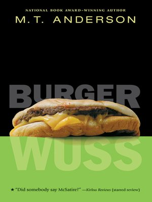 Click this cover for a(n) eBook sample of Burger Wuss.