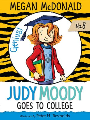 Click this cover for a(n) eBook sample of Judy Moody Goes to College.