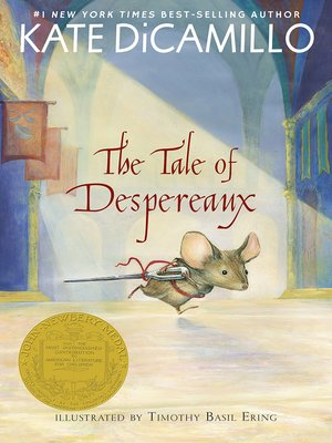 Click this cover for a(n) eBook sample of The Tale of Despereaux.
