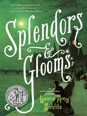 Click this cover for a(n) eBook sample of Splendors and Glooms
