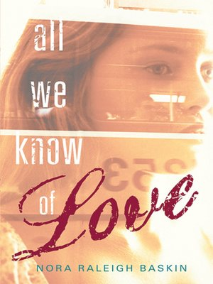 Click this cover for a(n) eBook sample of All We Know of Love.