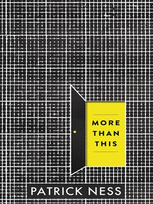 Click this cover for a(n) eBook sample of More Than This