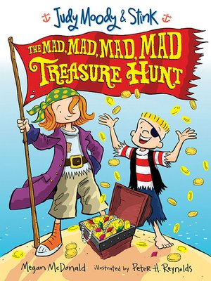 Click this cover for a(n) eBook sample of The Mad, Mad, Mad, Mad Treasure Hunt