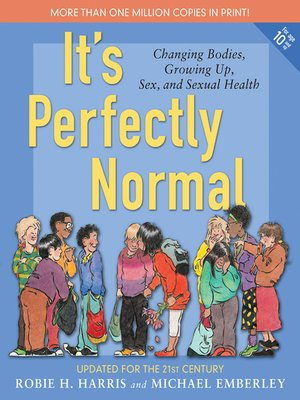 Click this cover for a(n) eBook sample of It's Perfectly Normal