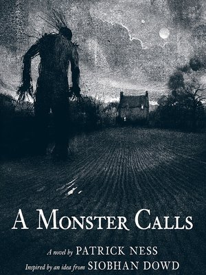 Click this cover for a(n) eBook sample of A Monster Calls.