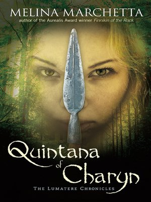 Click this cover for a(n) eBook sample of Quintana of Charyn.