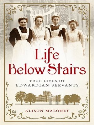 Click this cover for a(n) eBook sample of Life Below Stairs