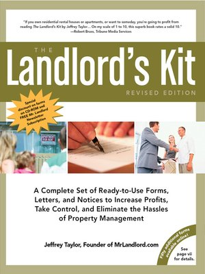 Click this cover for a(n) eBook sample of The Landlord's Kit.