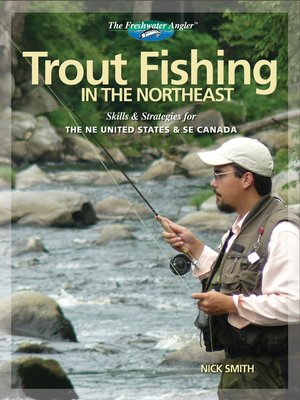 Click this cover for a(n) eBook sample of Trout Fishing in the Northeast