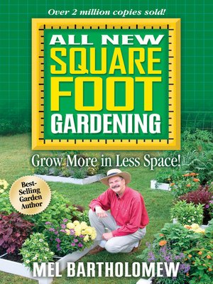 Click this cover for a(n) eBook sample of All New Square Foot Gardening.