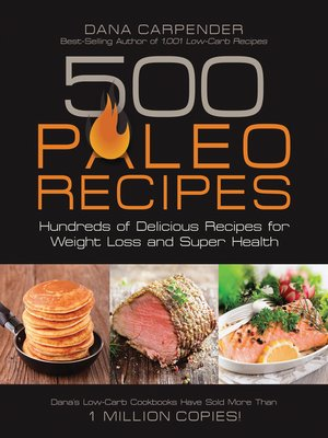 Click this cover for a(n) eBook sample of 500 Paleo Recipes.