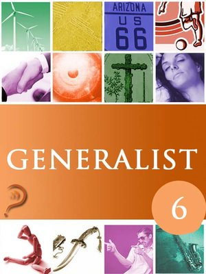 Cover of Generalist, Volume 6