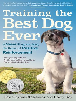 Click this cover for a(n) eBook sample of Training the Best Dog Ever
