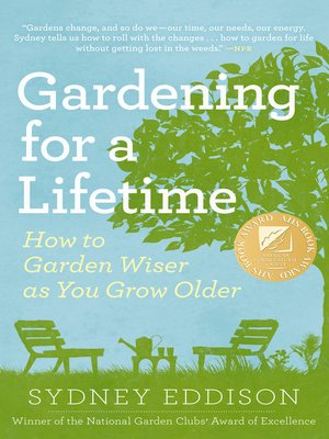 Click this cover for a(n) eBook sample of Gardening for a Lifetime