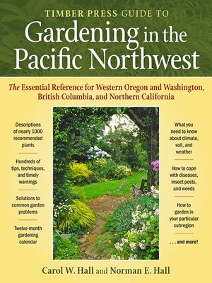 Click this cover for a(n) eBook sample of Timber Press Guide to Gardening in the Pacific Northwest