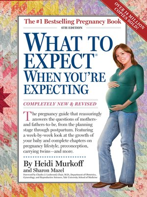 Click this cover for a(n) eBook sample of What to Expect When You're Expecting