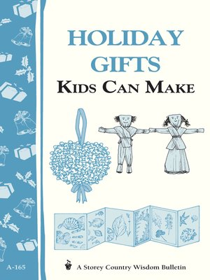 Click this cover for a(n) eBook sample of Holiday Gifts Kids Can Make
