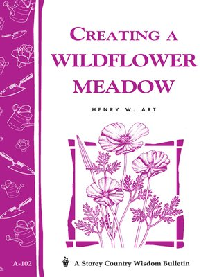 Click this cover for a(n) eBook sample of Creating a Wildflower Meadow