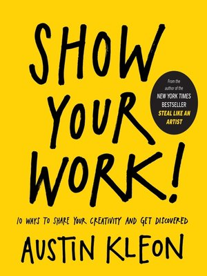 Cover of Show Your Work!
