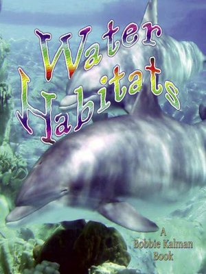 Click this cover for a(n) eBook sample of Water Habitats.