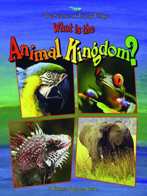 Click this cover for a(n) eBook sample of What is the Animal Kingdom?