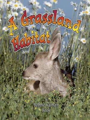 Click this cover for a(n) eBook sample of A Grassland Habitat