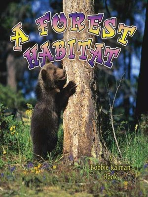 Click this cover for a(n) eBook sample of A Forest Habitat