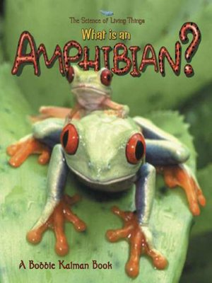 Click this cover for a(n) eBook sample of What is an Amphibian?.