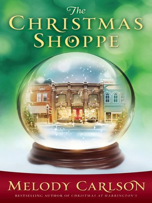 Click this cover for a(n) eBook sample of The Christmas Shoppe