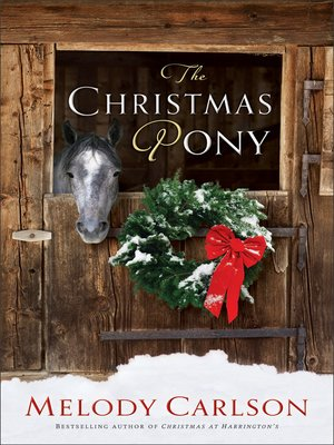 Click this cover for a(n) eBook sample of The Christmas Pony.