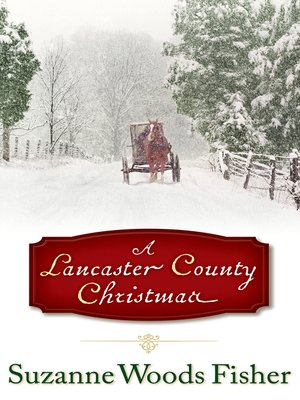 Click this cover for a(n) eBook sample of A Lancaster County Christmas.