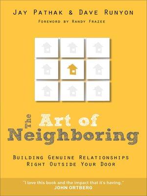 Click this cover for a(n) eBook sample of The Art of Neighboring.
