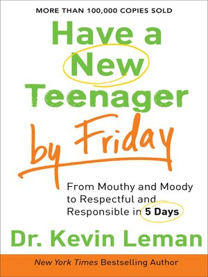 Click this cover for a(n) eBook sample of Have a New Teenager by Friday.