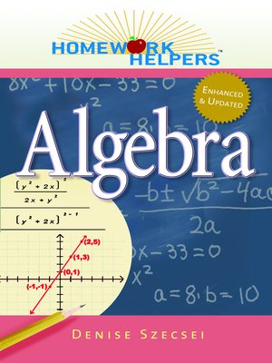 Click this cover for a(n) eBook sample of Algebra