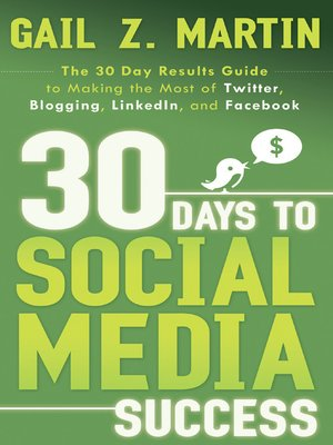Click this cover for a(n) eBook sample of 30 Days to Social Media Success.