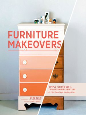 Click this cover for a(n) eBook sample of Furniture Makeovers