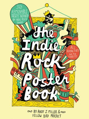 Cover of The Indie Rock Poster Book