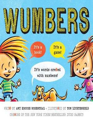 Click this cover for a(n) eBook sample of Wumbers