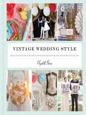 Click this cover for a(n) eBook sample of Vintage Wedding Style.