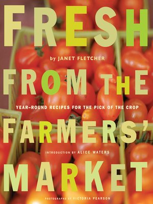 Click this cover for a(n) eBook sample of Fresh from the Farmers' Market.