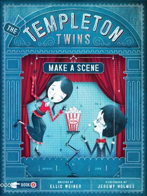 Click this cover for a(n) eBook sample of The Templeton Twins Make a Scene