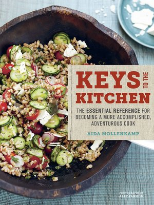 Click this cover for a(n) eBook sample of Aida Mollenkamp's Keys to the Kitchen.